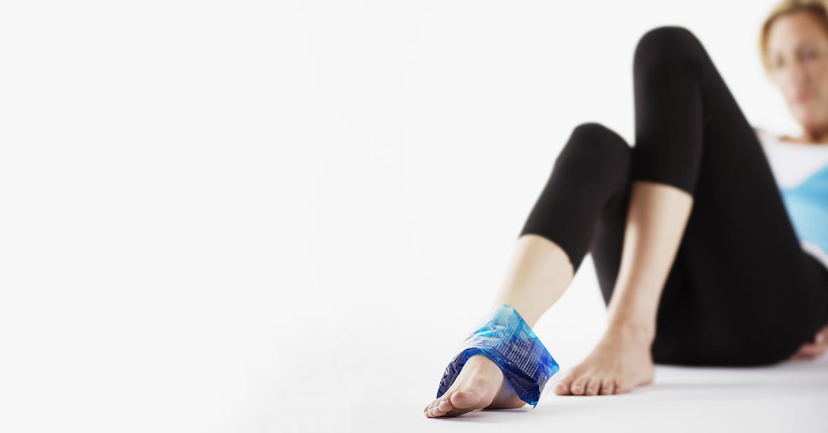 Redondo Beach natural ankle sprain treatment